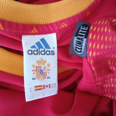 """Spain Home Shirt 2002-2004 (XL) """"Perfect"""""""