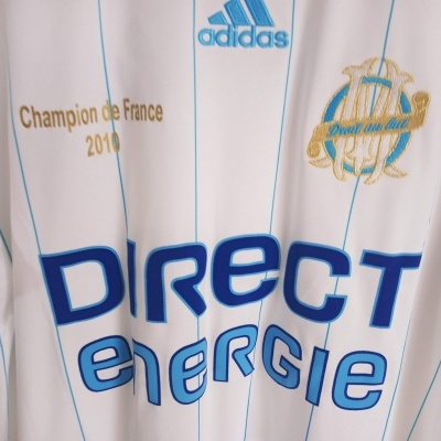 "OM Olympique Marseille 110 Years Home Shirt 2009-2010 (L) ""Perfect"""