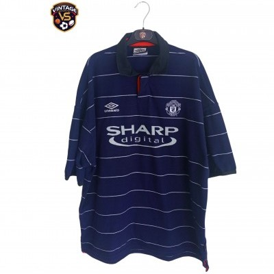 "Manchester United Away Shirt 1999-2000 (XXL) ""Very Good"""