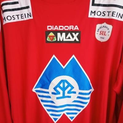"Spjelkavik IL Long Sleeve Home Shirt Norway #4 (XXL) ""Perfect"""