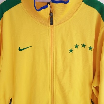 "Brazil Track Top Jacket 2010 Nike N98 (L) ""Very Good"""