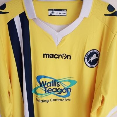 "Millwall FC Third Shirt 2015-2016 (4XL) ""Very Good"""