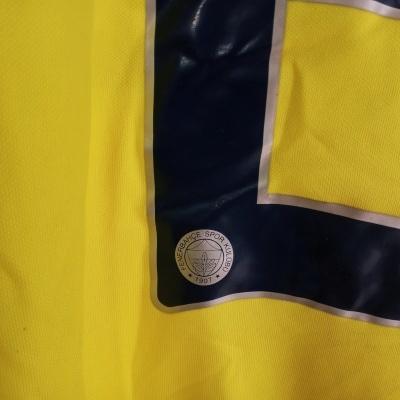 "Fenerbahce Centenary Home Shirt 2007 #2 Lugano (M) ""Very Good"""