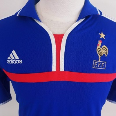 "France Home Shirt 2000 (S) ""Very Good"""