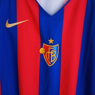 NEW FC Basel Home Shirt 2008-2009 (XL)