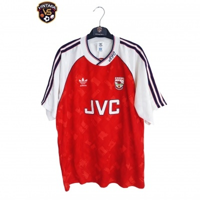 "Arsenal FC Home Shirt 1990-1992 (L) ""Very Good"""