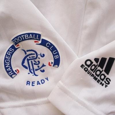 "Glasgow Rangers FC Away Shorts 1992-1993 (36 / S) ""Very Good"""