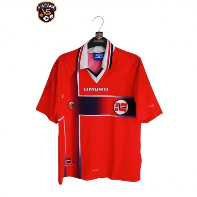 """Norway Home Shirt 1997-1998 (Youths) """"Good"""""""
