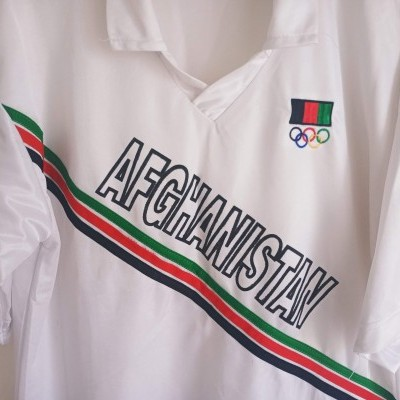 "Afghanistan Olympics Shirt (M) ""Good"""