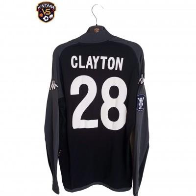 "Matchworn Vitoria Guimarães Uefa Shirt 2005 #27 Clayton (L) ""Very Good"""