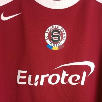 "Sparta Praha Prague Home Shirt 2004-2007 (XXL) ""Very Good"""