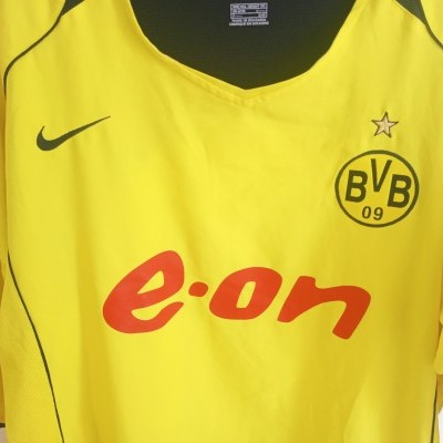 "BVB Borussia Dortmund Home Shirt 2004-2005 (XXL) ""Good"""