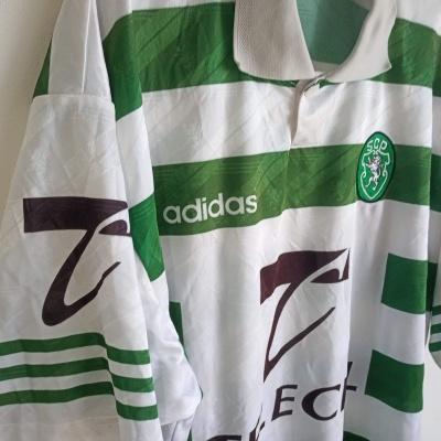 "Sporting CP Home Shirt 1996-1997 (L) ""Very Good"""