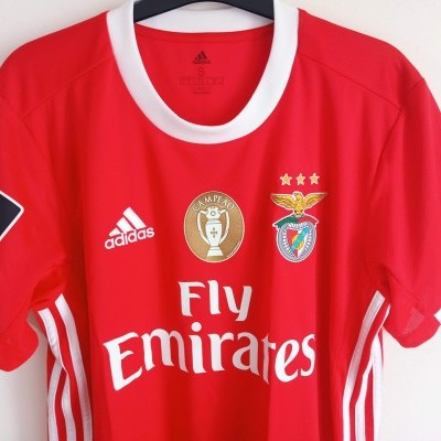 "SL Benfica Home Shirt 2019-2020 #3 Grimaldo (S) ""Perfect"""