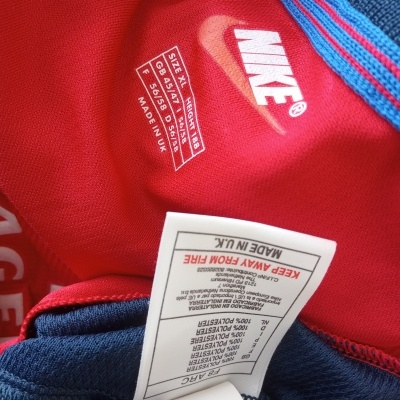 "Glasgow Rangers FC Away Shirt 1998-1999 (XL) ""Very Good"""