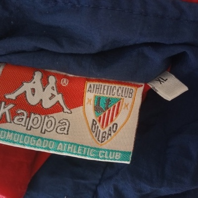 """Athletic Bilbao Track Top Jacket 1990s (XL) """"Very Good"""""""