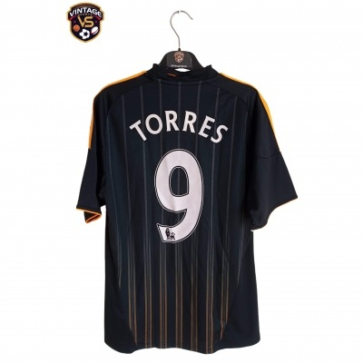 """Chelsea FC Away Shirt 2010-2011 #9 Torres (S) """"Perfect"""""""