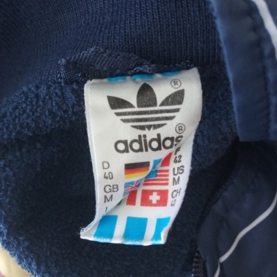 """Vintage Track Top Jacket Adidas Multi Reversible Sleeves (M) """"Good"""""""