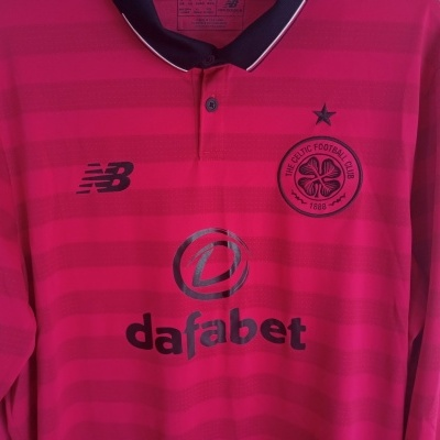 """Celtic FC Third Shirt L/S 2016-2017 (L) """"Very Good"""""""