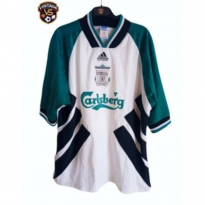 "Liverpool FC Away Shirt 1993-1995 (XXL) ""Average"""