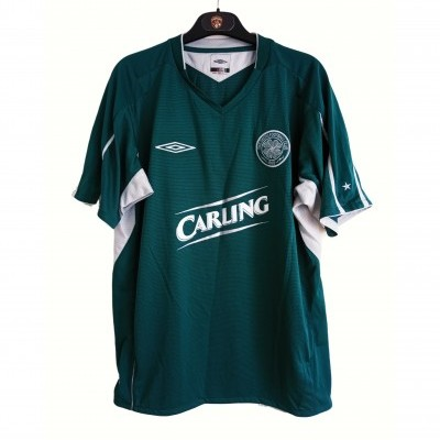 "Celtic Glasgow FC Away Shirt 2004-2005 (M) ""Perfect"""
