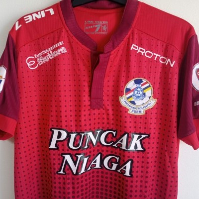 "MATCHWORN PDRM FA Cup Shirt 2016 #29 De Paula (L) ""Very Good"""