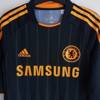 """Chelsea FC Away Shirt Player Issue 2010-2011(L) """"Perfect"""""""
