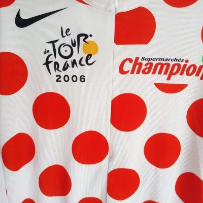 "Tour de France 2006 Cycling Moutain 1/2 Zip Jersey (M) ""Very Good"""