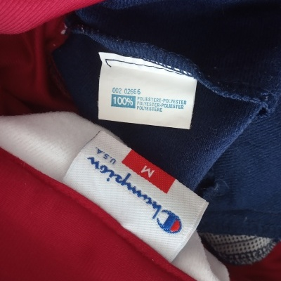"Vintage Tracksuit Champion Poppers Blue (M) ""Very Good"""