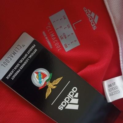 NEW SL Benfica Home Shirt 2017-2018 Eusebio (L)