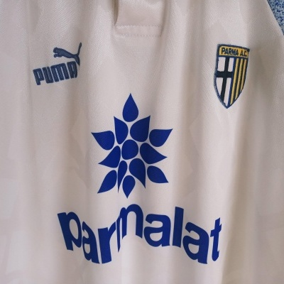 "AC Parma Calcio Home Shirt 1995-1997 (XL) ""Good"""