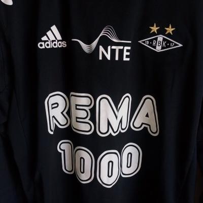 "Rosenborg BK Away Shirt L/S 2012 #17 (M) ""Very Good"""