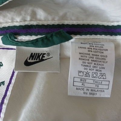 "Vintage Jacket Nike Supreme Court (XL) ""Very Good"""