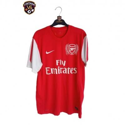 "Arsenal FC 125 Years Home Shirt 2011-2012 (M) ""Good"""