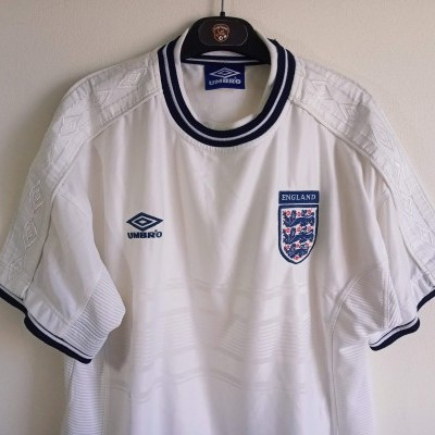 "England Home Shirt 1999-2001 (L) ""Very Good"""