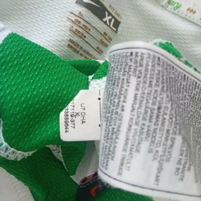 """Player Issue Celtic FC Home Shirt 2007-2008 #2 (XL) """"Good"""""""