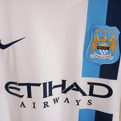 """Manchester City Third Shirt 2013-2014 (XL) """"Very Good"""""""
