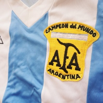 "Argentina Home Shirt 1980 (XS) ""Very Good"""