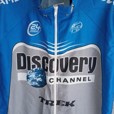 "Discovery Channel Trek Cycling Windstopper Jersey (XXL) ""Very Good"""