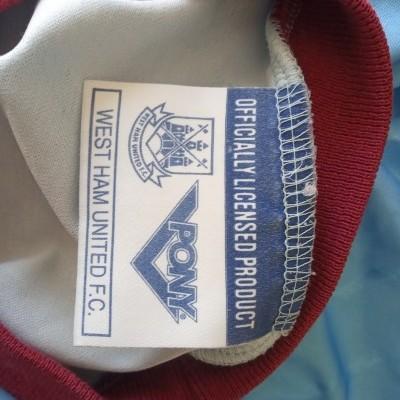 "West Ham United Away Shirt 1993-1995 (M) ""Good"""