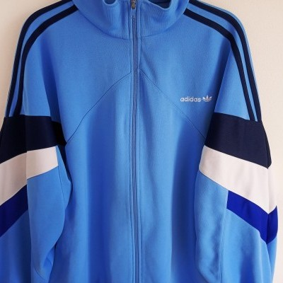 "Vintage Track Top Jacket Adidas Blue (M) ""Good"""