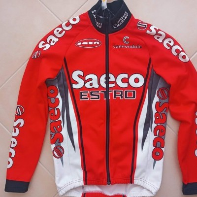 "Saeco Cannondale Cycling Jacket (M) ""Very Good"""