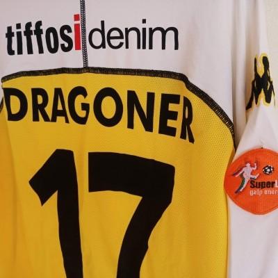 "Matchworn Vitoria Guimarães Away Shirt 2004 #17 Dragoner (XL) ""Very Good"""