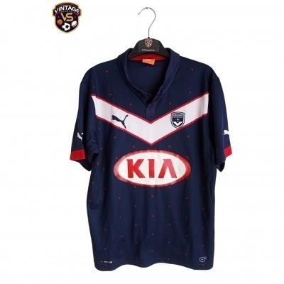 "Girondins Bordeaux Home Shirt 2014-2015 #12 Kiese Thelin (S) ""Very Good"""