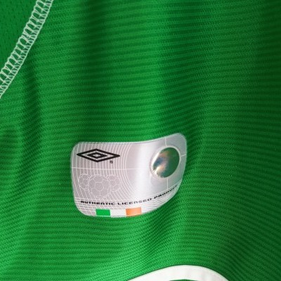"Republic of Ireland Home Shirt 2002 (XL) ""Very Good"""