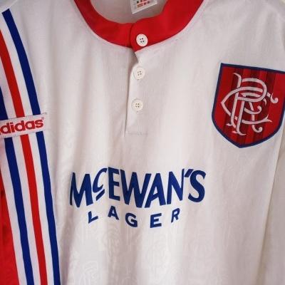 "Glasgow Rangers FC Away Shirt 1996-1997 (XXL) ""Very Good"""