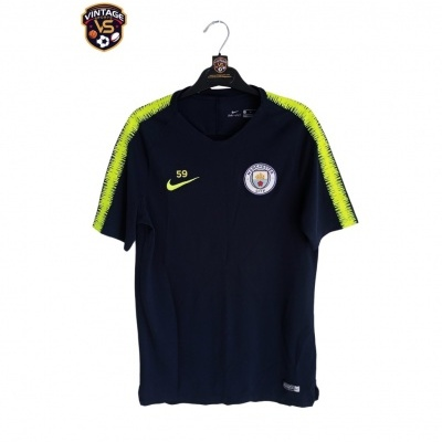 """Player Issue Manchester City Training Shirt 2018-2019 #59 (M) """"Very Good"""""""