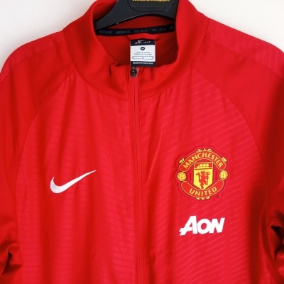 """Manchester United Pre Match Woven Jacket 2014-2015 (M) """"Very Good"""""""
