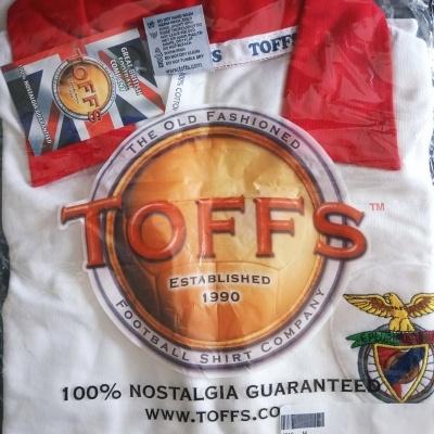 NEW Retro SL Benfica Away Shirt 1960s (M)