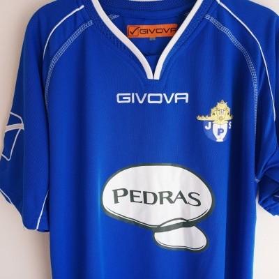 "Matchworn Pedras Salgadas Football Home Shirt 2013-2014 #2 (L) ""Very Good"""